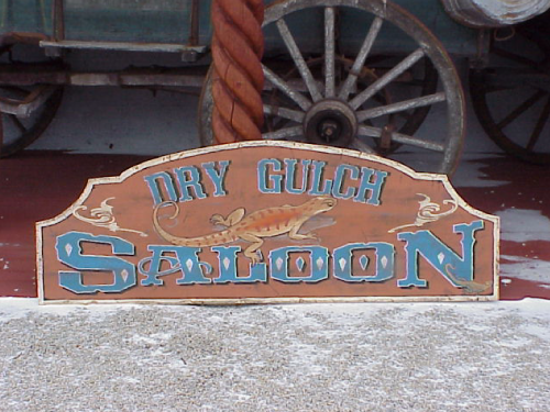 Old West Signs - Custom Hand Carved Signs that look 100 Years Old