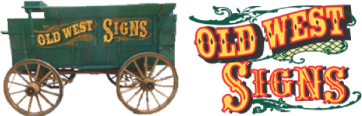 Old West Signs Retina Logo