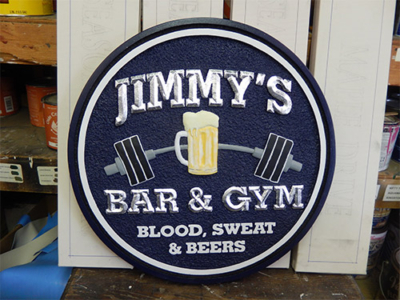 Customized Bar Signs