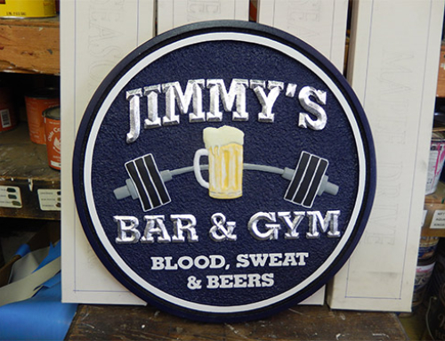 Jimmy d s bar and grill old west signs