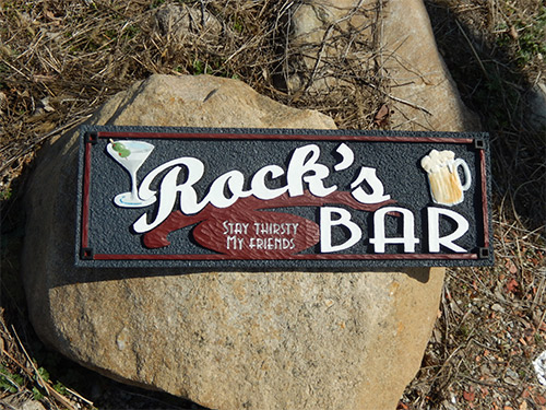 Customized Bar Signage