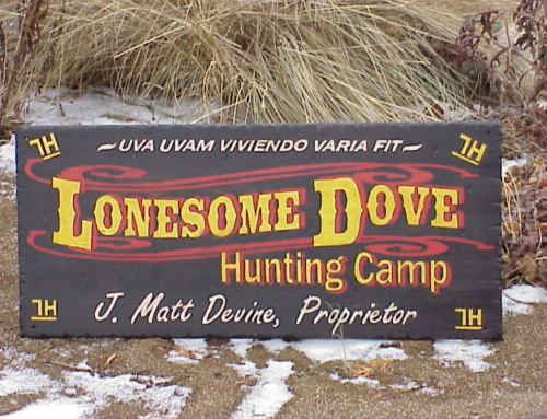 Lonesome Dove Hunting Camp